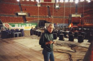 Stavros at the Peiking Coliseum